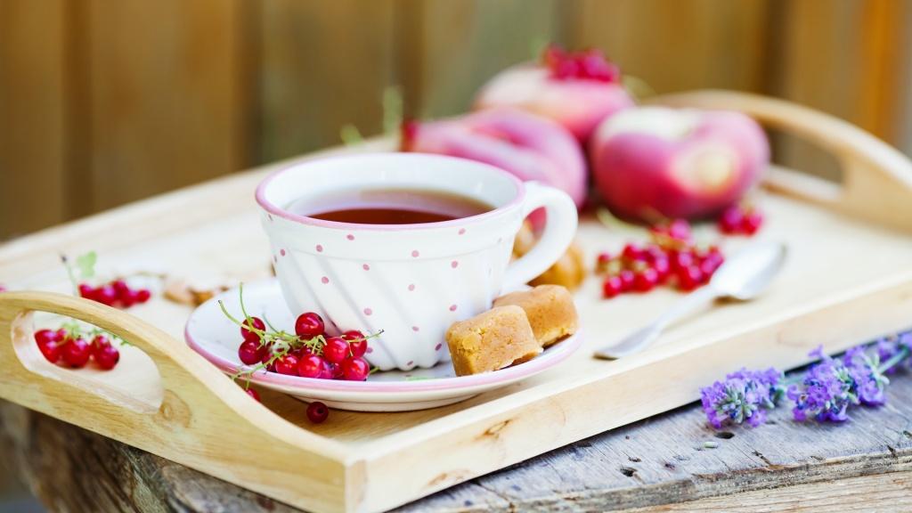 картинки для мобилы.торт и чай